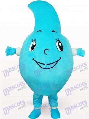 Blaues Wasser-Tropfen Party Maskottchen Kostüm