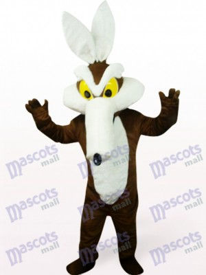 Monster in brauner Kleidung Party Maskottchen Kostüm
