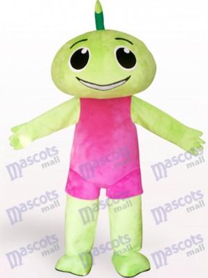 Grün Fee Eidolon Anime Maskottchen Kostüm für Erwachsene