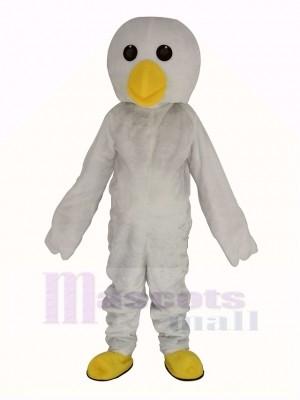 Weiß Küken Maskottchen Kostüm