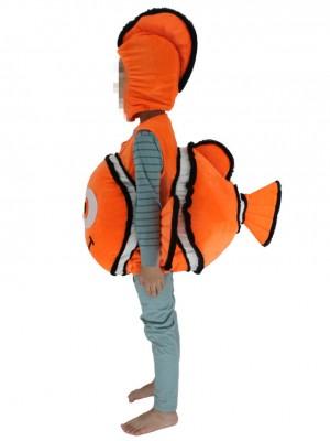 Kinder Halloween Findet Nemo Clown Fish tragen mich Maskottchen Kostüme