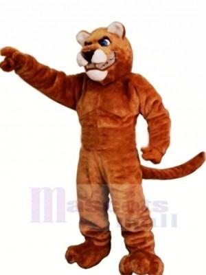Leistung Braun Panther Maskottchen Kostüme Erwachsene