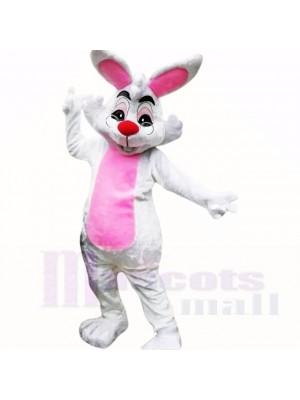 Lächelnd Brille Ostern Hase Maskottchen Kostüme Billig