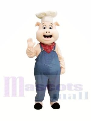 Koch Schwein Maskottchen Kostüme