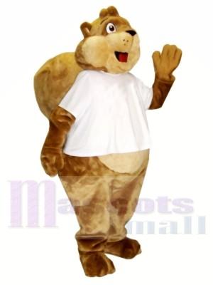 Cash Eichhörnchen Maskottchen Kostüme
