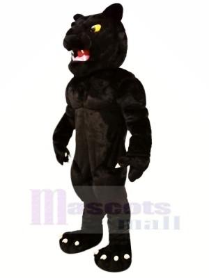 Leistung Schwarz Panther Maskottchen Kostüme Karikatur