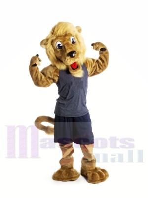 Gut aussehend Braun Löwe Maskottchen Kostüme Tier