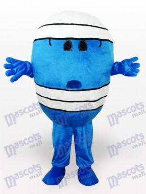 Herr Wrestling Cartoon Maskottchen kostüm