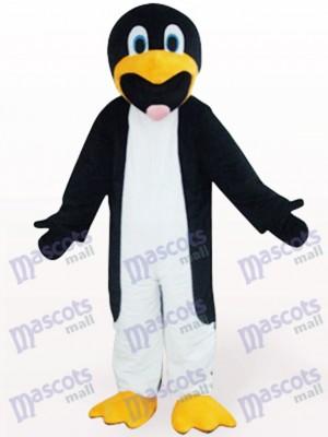 Schwarz Und Weiß Schlank Pinguin Tier Maskottchen Kostüm