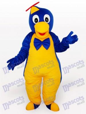 Blaues gelbes Pinguin Maskottchen Kostüm