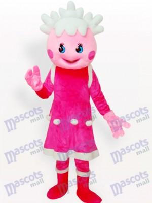 Rosa Prinzessin Cartoon Maskottchen Kostüm