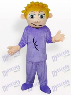 Junge Anime Maskottchen Kostüm