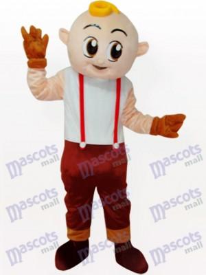 Junge Cartoon Adult Maskottchen Kostüm