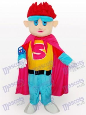 Roter Haar Junge Cartoon Maskottchen Kostüm für Erwachsene
