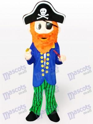 Piraten Karikatur erwachsenes Maskottchen Kostüm