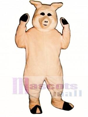 Netter Pierre Schwein Maskottchen Kostüm