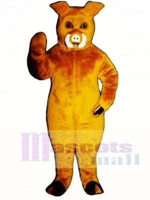 Eber Schwein Schwein Maskottchen Kostüm