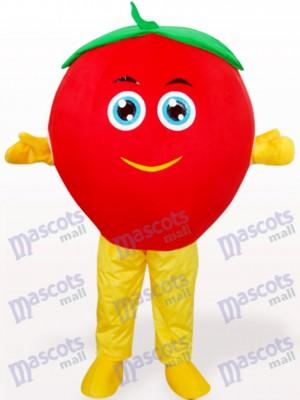 Lovely Tomato Fruit Maskottchen Kostüm für Erwachsene