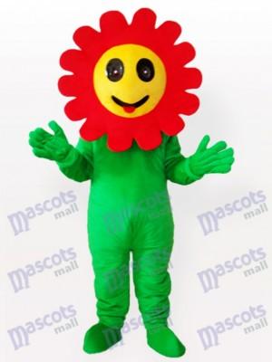 Kichernde Sonne Blumen Anlage erwachsenes Maskottchen lustiges Kostüm