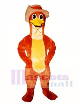 Perry Schnabeltier Entenschnabel mit Hut Maskottchen Kostüm Tier