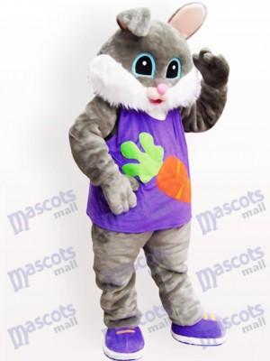 Ostern Rettich Kaninchen Tier erwachsenes Maskottchen Kostüm