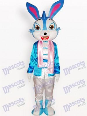 Ostern blaues Kaninchen Tier Maskottchen Kostüm