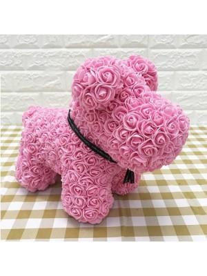 Rosa Rose Hündchen Flower Hündchen Bestes Geschenk für Muttertag, Valentinstag, Jubiläum, Hochzeit und Geburtstag
