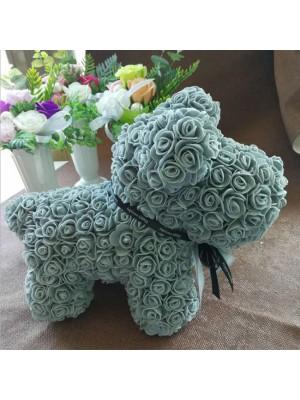 Hellblau Rose Hündchen Flower Hündchen Bestes Geschenk für Muttertag, Valentinstag, Jubiläum, Hochzeit und Geburtstag
