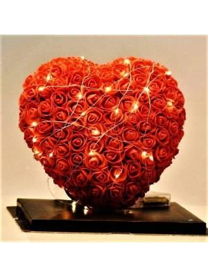 Luxus Rose Herz Blume Bestes Geschenk für Muttertag, Valentinstag, Jubiläum, Hochzeit und Geburtstag