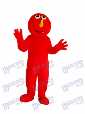 Red Elmo Monster Maskottchen Adult Kostüm Cartoon Anime