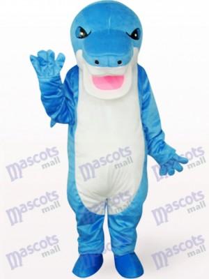 Blauer Hai Tier Maskottchen Kostüm