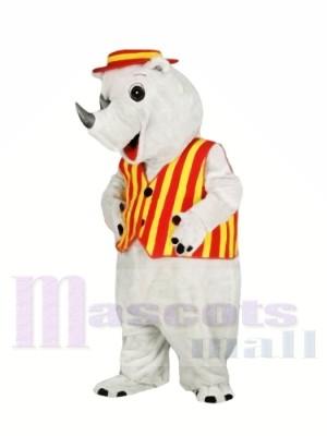 Top Qualität Leicht Erwachsenes Nashorn Maskottchen Kostüme