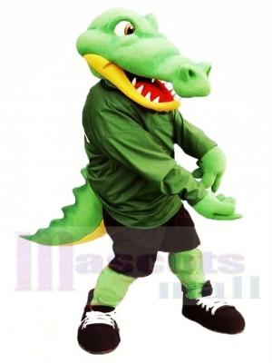 Hochwertiger Alligator Maskottchen Kostüm