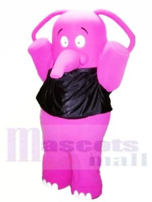 Fett Rosa Elefant Maskottchen Kostüme