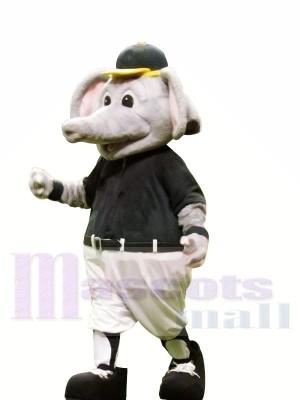 Sport Elefant mit Gelb Hut Maskottchen Kostüme Tier
