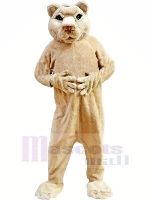 Hellbraun gefärbt Löwe Maskottchen Kostüme Erwachsene