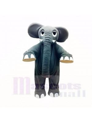 Stark Grau Elefant Maskottchen Kostüme Erwachsene