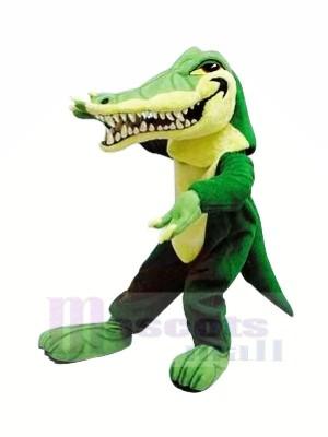 Heftig Alligator mit Groß Mund Maskottchen Kostüme