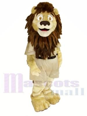 Stark Braun Löwe Maskottchen Kostüme Tier