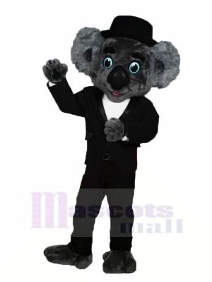 Gentleman Koala Maskottchen Kostüme Karikatur