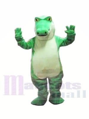 Heftig Grün Alligator Maskottchen Kostüme Tier