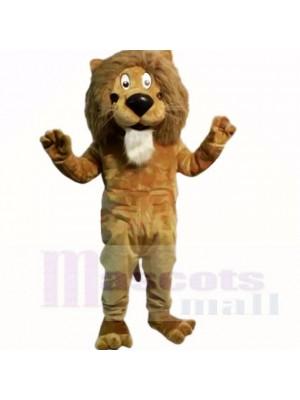 Braun Freundlich Leicht Löwe Maskottchen Kostüme Karikatur