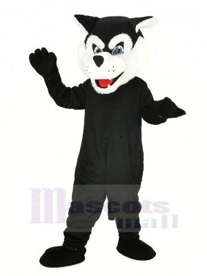 Schwarz Bearcat Binturong Maskottchen Kostüm Tier