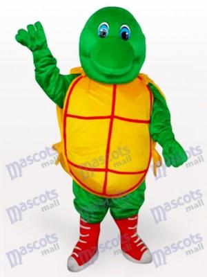 Grüne Schildkröte Tier Maskottchen Kostüm