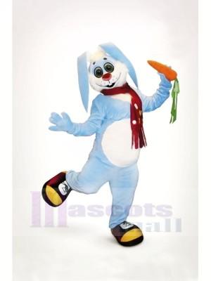 Süß Blau Hase Maskottchen Kostüme Tier