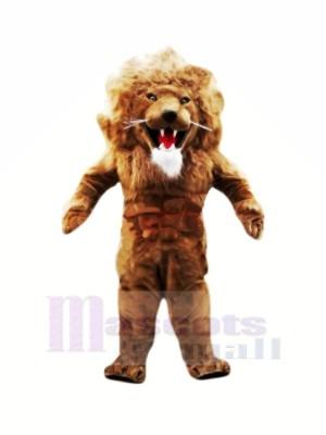 Heftig Muskulös Löwe Maskottchen Kostüme