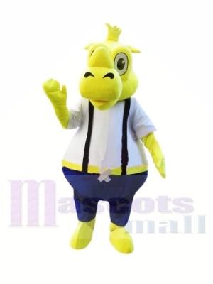 Gelbe Nashorn Maskottchen Kostüme