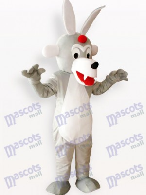 Timber Wolf Tier Maskottchen Kostüm für Erwachsene
