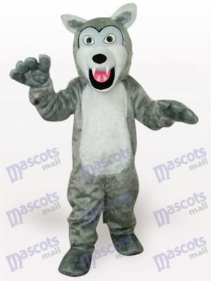 Grau Wolf Tier Maskottchen Kostüm für Erwachsene