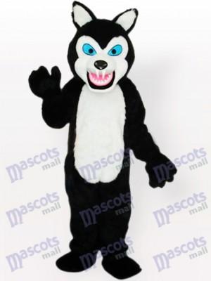 Little Black Wolf Maskottchen Kostüm für Erwachsene A aktualisiert